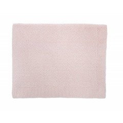 Rose in April big bou blanket - light pink