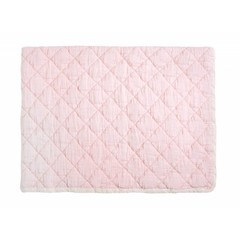 Rose in April rose marie quilt - light pink stripe