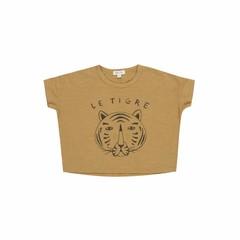 Rylee + Cru le tigre box tee - mustard