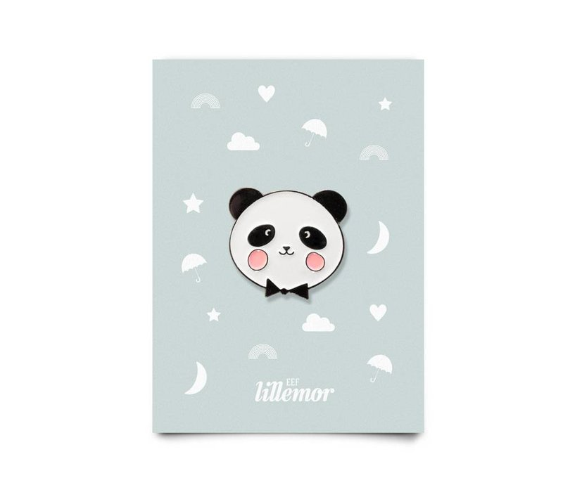 animal pin - adorable panda
