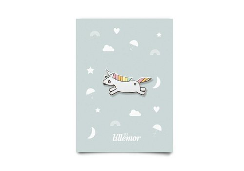 Eef Lillemor animal pin - hopping unicorn