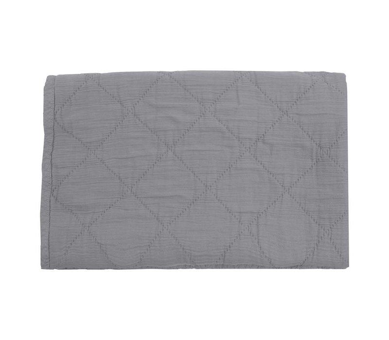 quilt alma - grey 80x100