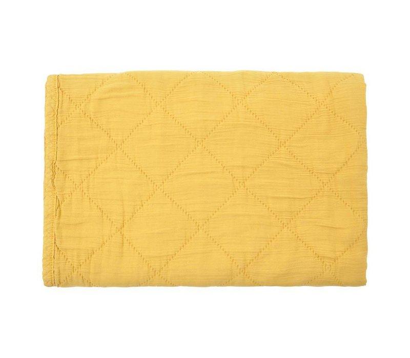 quilt alma - ceylan yellow 80x100