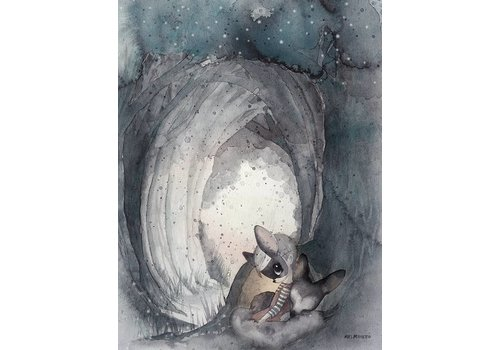 Mrs Mighetto secret tunnel - 30x40 + gratis ABC poster