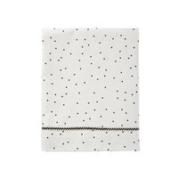 wieg laken baby - adorable dots