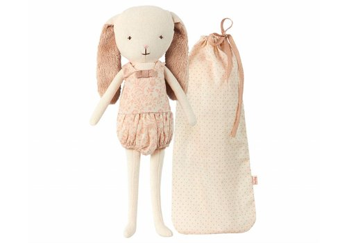 Maileg coming soon - bunny bell in bag - rose