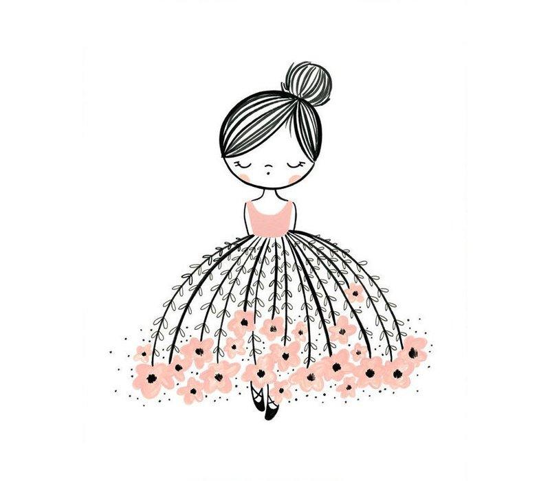 poster flower dress dreamer