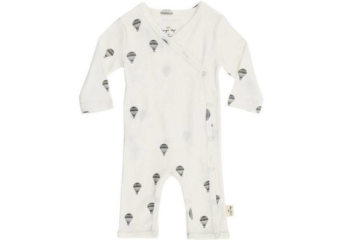 konges sløjd new born onesie - parachute