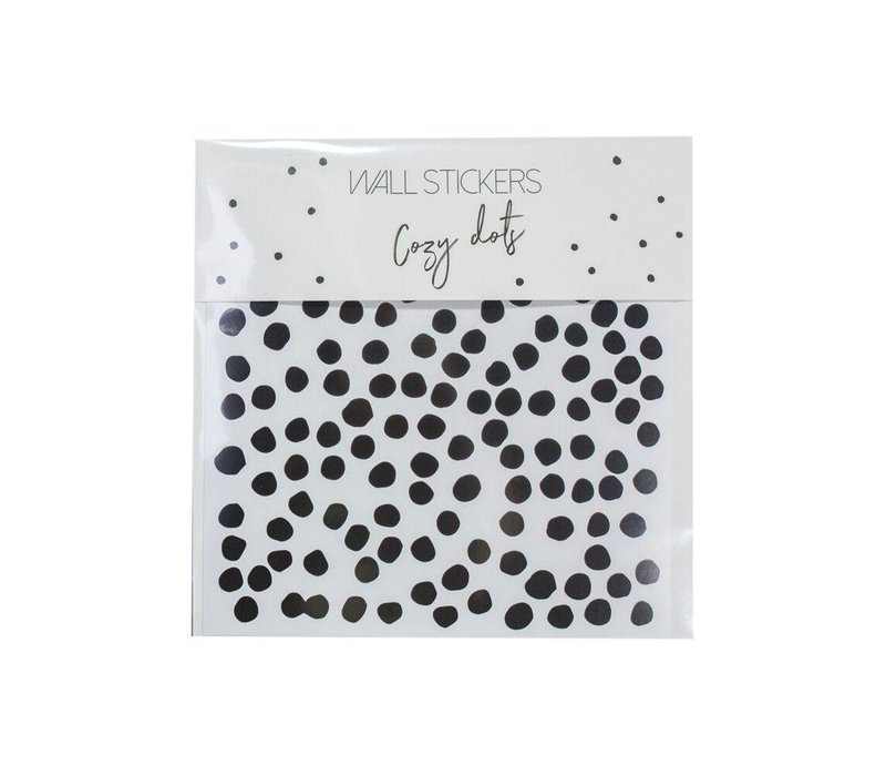 muurstickers cozy dots