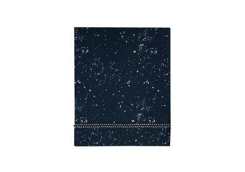 Mies & Co wieglaken - cradle galaxy parisian night 80x100