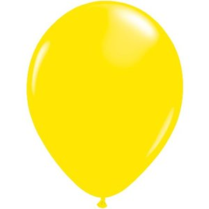 Rundballon gelb - 13 cm - 100 Stück