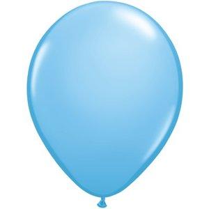 Rundballon hellblau - 13 cm - 100 Stück