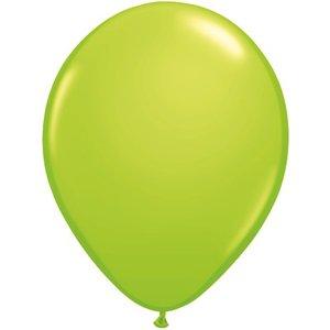 Rundballon hellgrün - 13 cm - 100 Stück