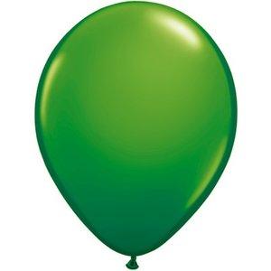 Rundballon grün - 13 cm - 100 Stück