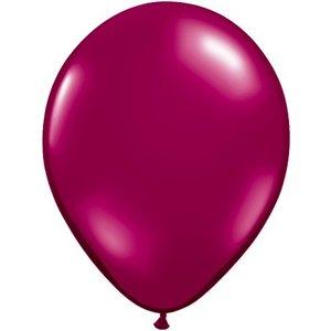 Rundballon burgund - 13 cm - 100 Stück