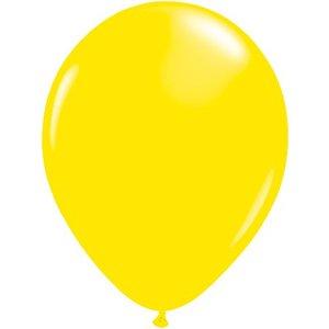 Rundballon gelb - 30 cm - 100 Stück