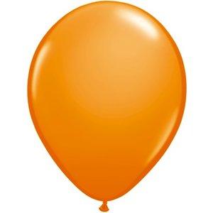 Rundballon orange - 30 cm - 100 Stück