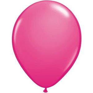 Rundballon pink - 30 cm - 100 Stück