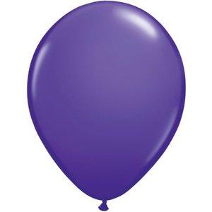 Rundballon violett - 30 cm - 100 Stück