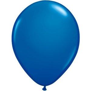 Rundballon blau - 30 cm - 100 Stück