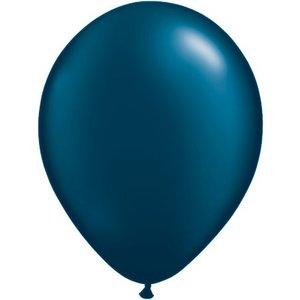 Rundballon dunkelblau - 30 cm - 100 Stück