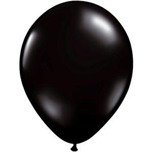 Rundballon schwarz - 30 cm - 100 Stück