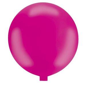 Riesenballon - 80 cm - pink - 1 Stück