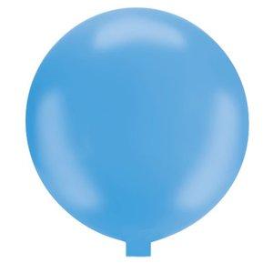 Riesenballon - 80 cm - hellblau- 1 Stück
