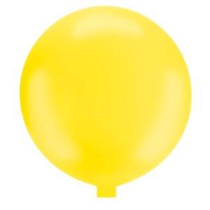 Riesenballon - 130 cm - gelb - 1 Stück