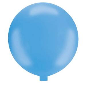 Riesenballon - 130 cm - hellblau- 1 Stück