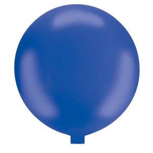 Riesenballon - 130 cm - blau- 1 Stück