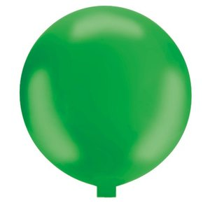 Riesenballon - 130 cm - grün- 1 Stück