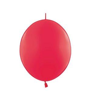 Verbindungsballons rot - 35 cm - 100 Stück