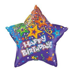 Happy Birthday Stern - 50 cm