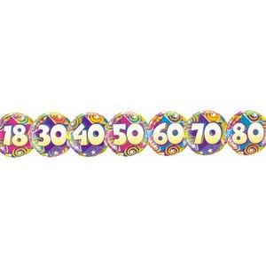 Folienballon zum runden Geburtstag