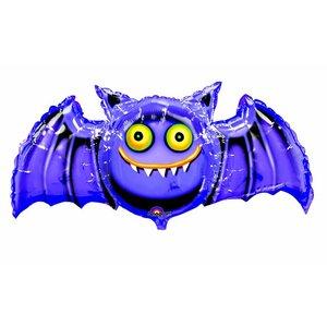 Folienballon Verrückte Fledermaus