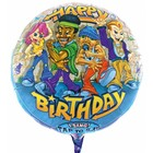 Singender Ballon Happy Birthday Rapper