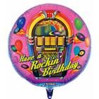 Singender Ballon Rockin Birthday