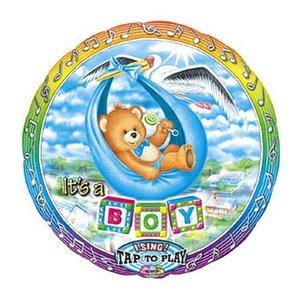 Singender Ballon It´s a Boy mit ca. 70 cm Durchmesser