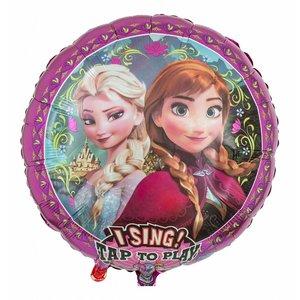 Singender Ballon Frozen - Die Eiskönigin mit ca. 70 cm Durchmesser - Copy