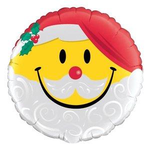 Santa Smile - Folienballon ca. 46 cm
