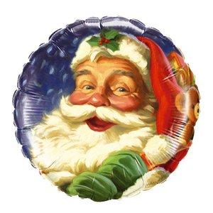Folienballon Santa Claus - Folienballon ca. 46 cm
