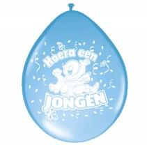 Geboorte Ballonnen Jongen 30cm 8 stuks