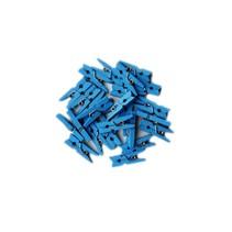 Blauwe Mini Wasknijpers 20 stuks