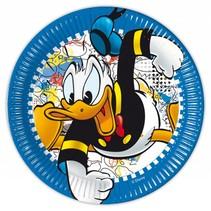 Donald Duck Borden 23cm 8 stuks