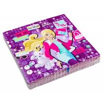 Barbie Servetten 20 stuks