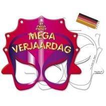 Mega Mindy Maskers 8 stuks