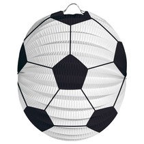 Voetbal Lampion 22cm