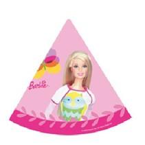 Barbie Hoedjes 6 stuks