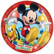 Mickey Mouse Borden 23cm 8 stuks
